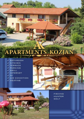 Apartments Kozjan