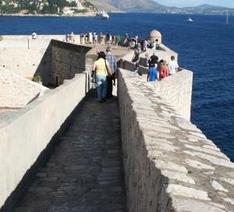 Dubrovnik, auf der Stadtmauer rund um die Altstadt